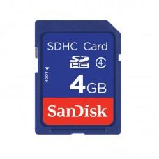 Sandisk SDHC Class 4 Blue