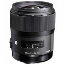 Sigma 35mm f1.4 EX DG HSM A