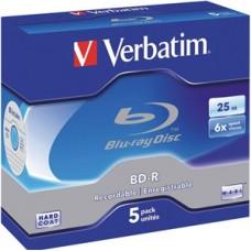 Verbatim BluRay BD-R 25GB 6x  5pk