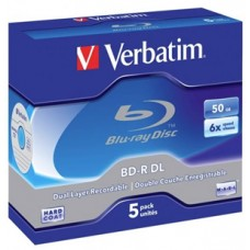 Verbatim BluRay BD-R DL 50GB 5pk