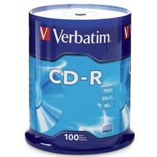 Verbatim CD-R 52x  Spindle 100pk